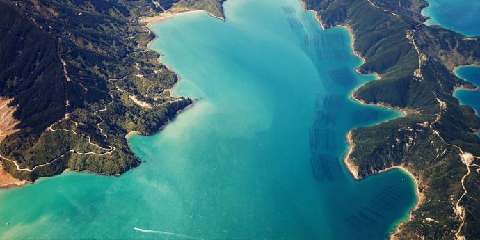 Aqua-farming-Marlborough-Sounds