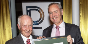 The IoD confers Distinguished Fellow award to John Spencer